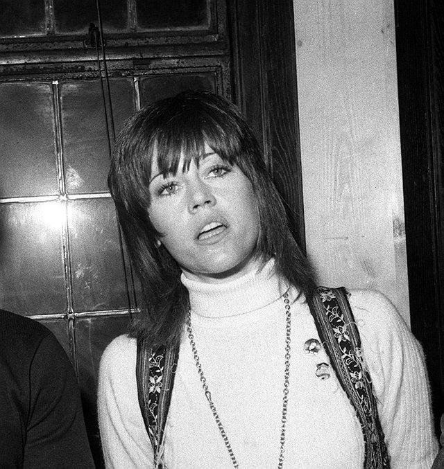 Jane Fonda Iconic Women